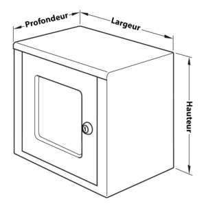 dimensions du coffre